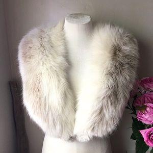Vintage | Silver Fox Collar